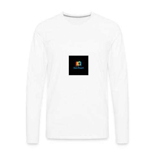 Chase Bennett logo - Men's Premium Long Sleeve T-Shirt