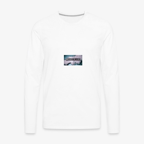 wonderland case - Men's Premium Long Sleeve T-Shirt