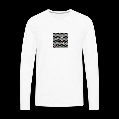 Rainydemiboy ! 's logo ! - Men's Premium Long Sleeve T-Shirt