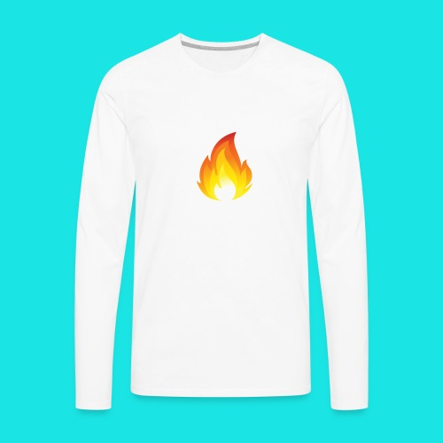 Heated Podcast - Men's Premium Long Sleeve T-Shirt