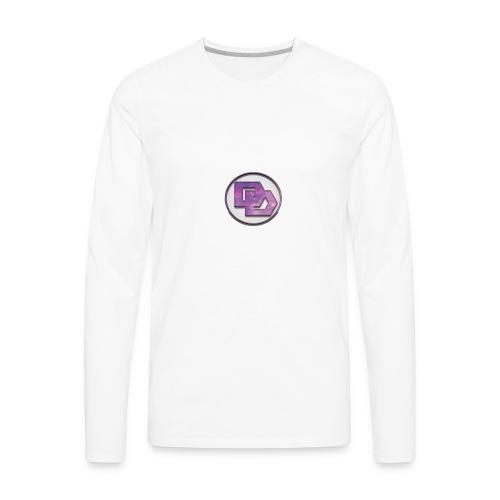 DerpDagg Logo - Men's Premium Long Sleeve T-Shirt