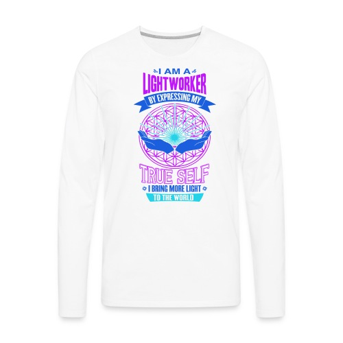 I am Lightworker - Men's Premium Long Sleeve T-Shirt