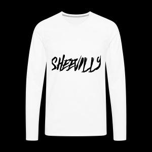 LIL TAY - SHEEVILLY GANG MERCH - Men's Premium Long Sleeve T-Shirt