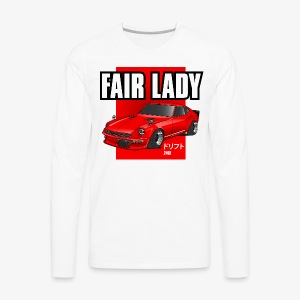 240z fair lady - Men's Premium Long Sleeve T-Shirt