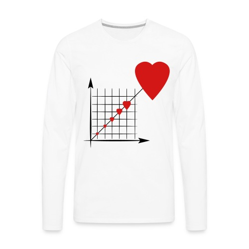 Love Diagram - Men's Premium Long Sleeve T-Shirt