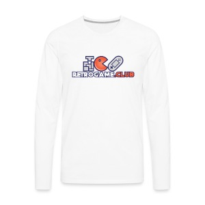 Retro Game Club - Men's Premium Long Sleeve T-Shirt