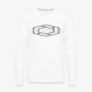 Here After Six Logo - Men's Premium Long Sleeve T-Shirt