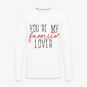 Favorite Lover - Men's Premium Long Sleeve T-Shirt