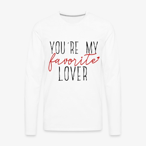 Favorite Lover - Men's Premium Long Sleeve T-Shirt