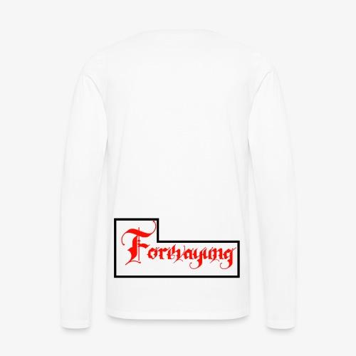 Forevayung on back - Men's Premium Long Sleeve T-Shirt