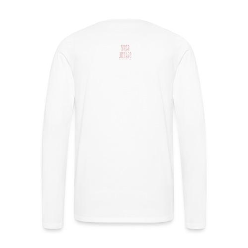 Yoga Junkie - Men's Premium Long Sleeve T-Shirt