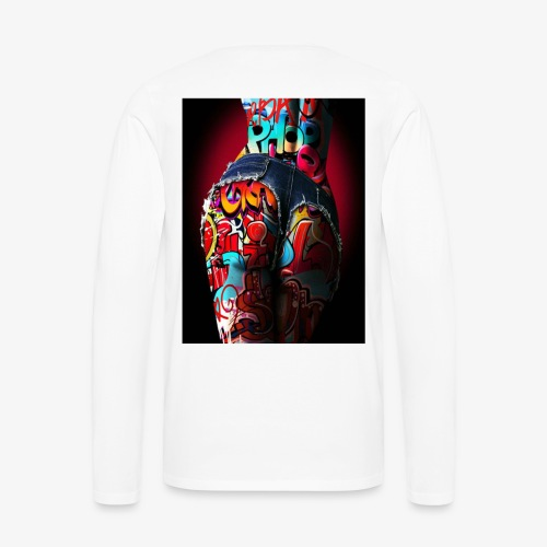 hip hop nigth - Men's Premium Long Sleeve T-Shirt