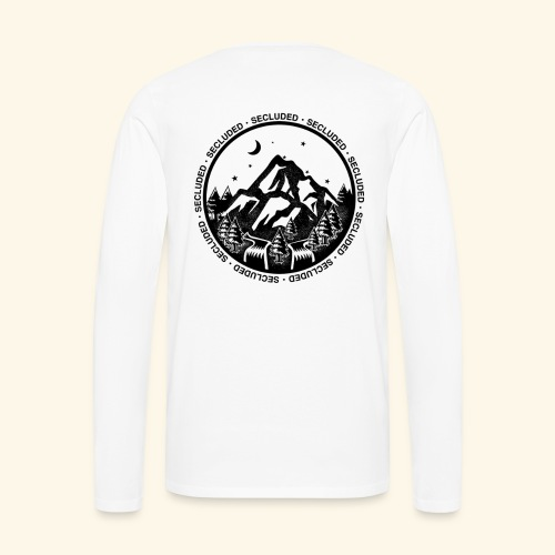 Bellingen Mountain Ranges - Men's Premium Long Sleeve T-Shirt