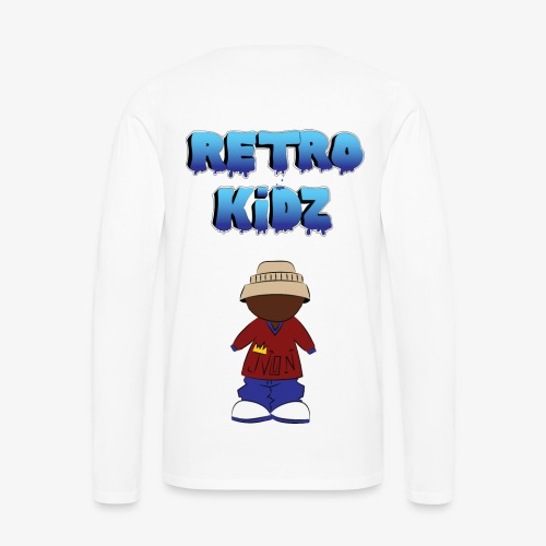 New Retro Kidz Back - Men's Premium Long Sleeve T-Shirt