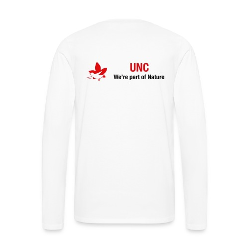 UNC logo - Men's Premium Long Sleeve T-Shirt