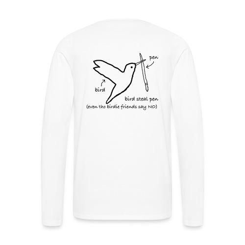 Very Rebellious Birdie - Men's Premium Long Sleeve T-Shirt