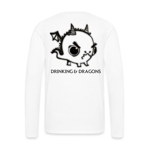 ANGRY DRAGON - Men's Premium Long Sleeve T-Shirt