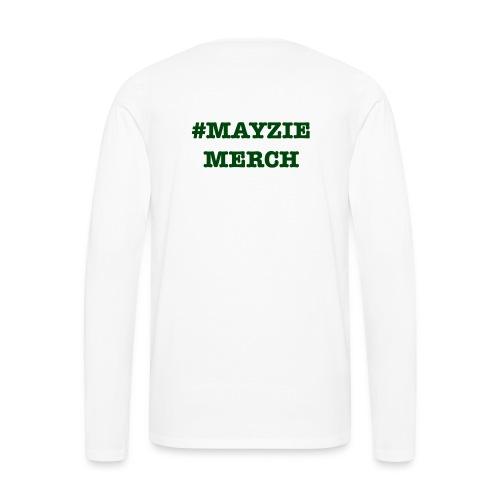 Back Logo - Men's Premium Long Sleeve T-Shirt