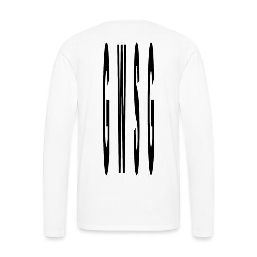 GWSG type - Men's Premium Long Sleeve T-Shirt