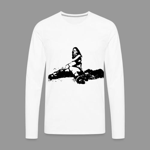 Roller Derby - Men's Premium Long Sleeve T-Shirt
