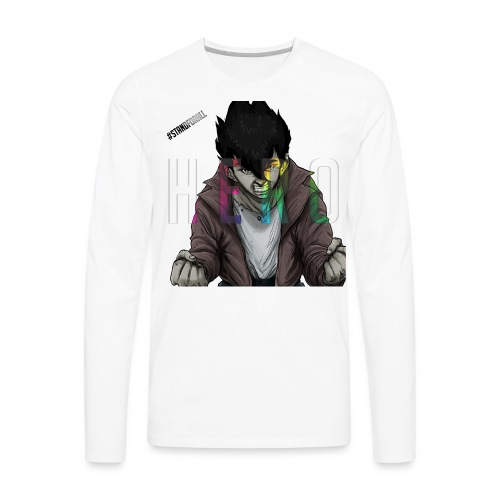 Stand For All - Men's Premium Long Sleeve T-Shirt