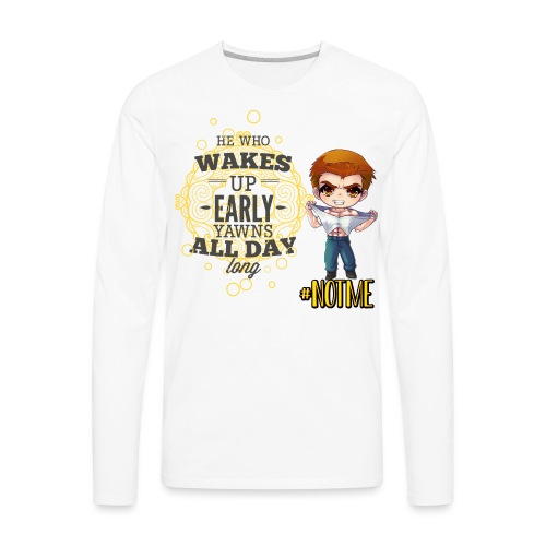 NOT ME! - Men's Premium Long Sleeve T-Shirt