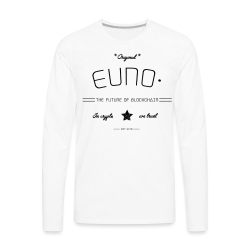 In Crypto we trust - Men's Premium Long Sleeve T-Shirt