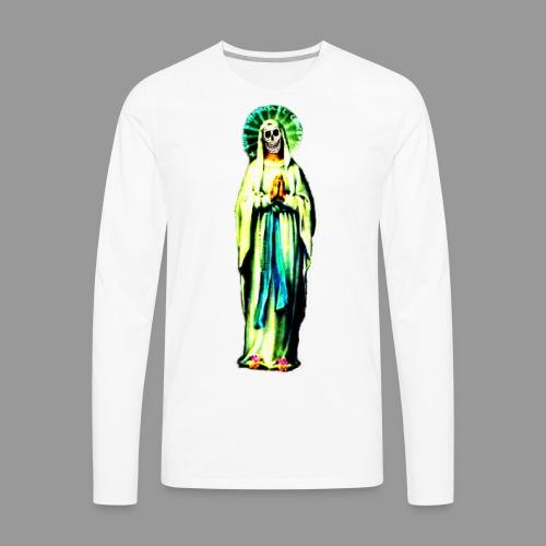 Cult Of Santa Muerte - Men's Premium Long Sleeve T-Shirt