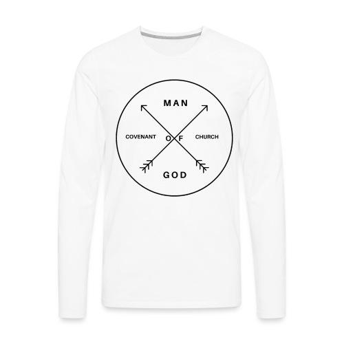 Man of God - Men's Premium Long Sleeve T-Shirt