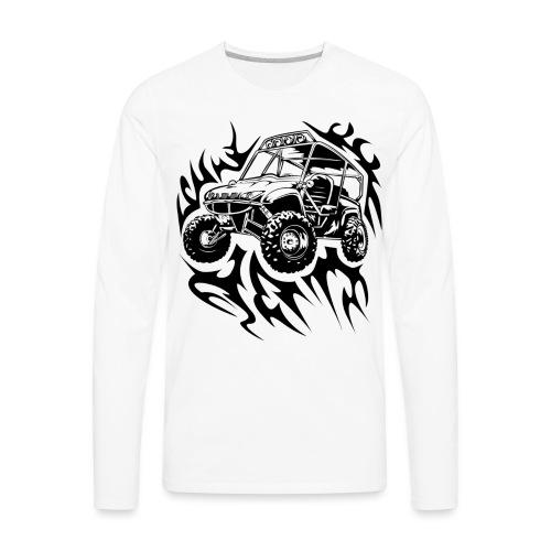 Fired Up UTV - Men's Premium Long Sleeve T-Shirt