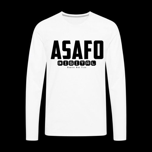 Asafo Digital - Men's Premium Long Sleeve T-Shirt