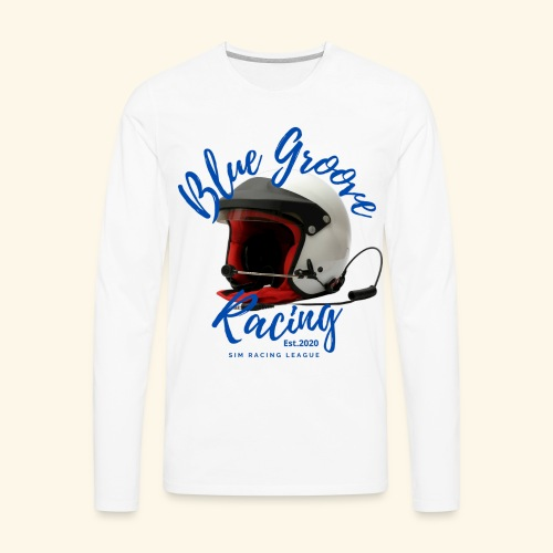 BGR Helmet - Men's Premium Long Sleeve T-Shirt