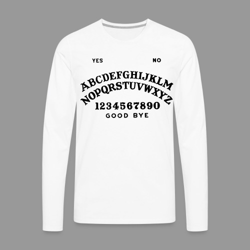 Talking Board - Men's Premium Long Sleeve T-Shirt
