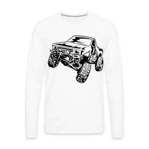 Truck Crawler - Men's Premium Long Sleeve T-Shirt