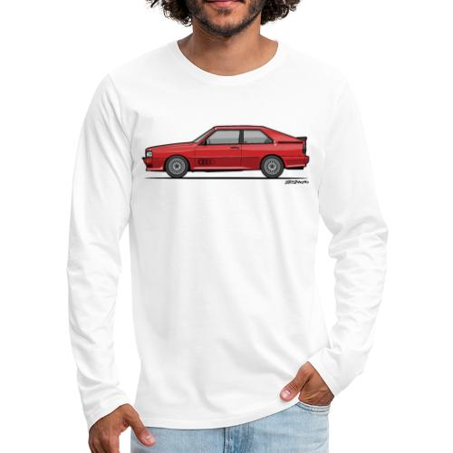 four rings b2 red quattro - Men's Premium Long Sleeve T-Shirt
