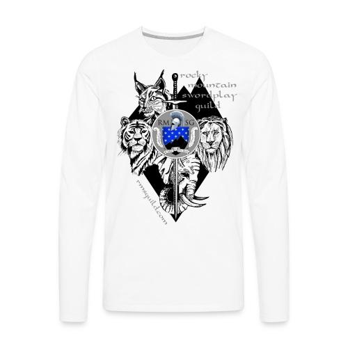 RMSG Fiore's Animals - Men's Premium Long Sleeve T-Shirt