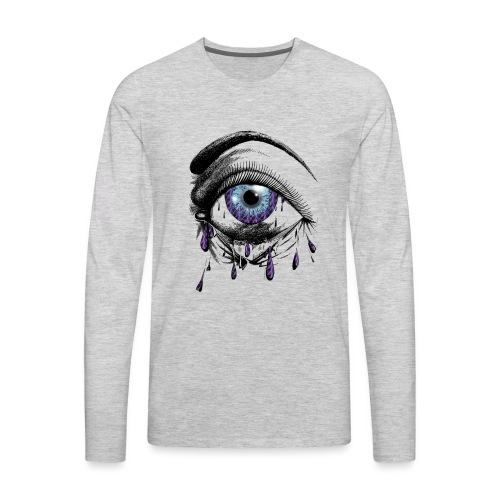Lightning Tears - Men's Premium Long Sleeve T-Shirt