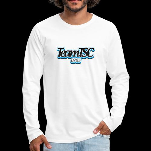 TeamTSC dolphin - Men's Premium Long Sleeve T-Shirt