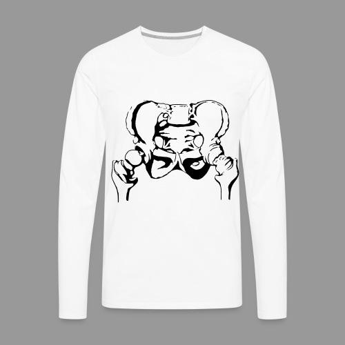 Pelvis - Men's Premium Long Sleeve T-Shirt