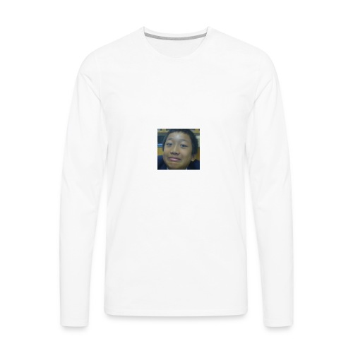 Pat's Face - Men's Premium Long Sleeve T-Shirt