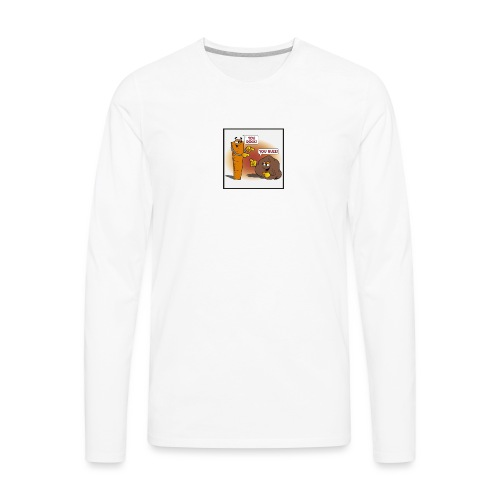 Rock And Ruler - Men's Premium Long Sleeve T-Shirt