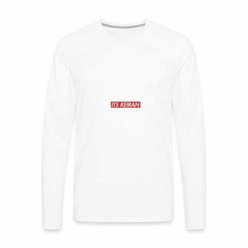 its keiran box logo - Men's Premium Long Sleeve T-Shirt