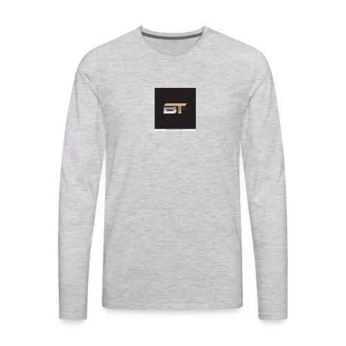 BT logo golden - Men's Premium Long Sleeve T-Shirt