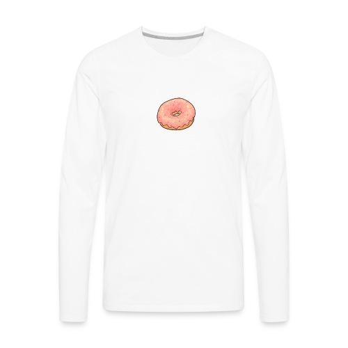 Donut T-Shirt - Men's Premium Long Sleeve T-Shirt