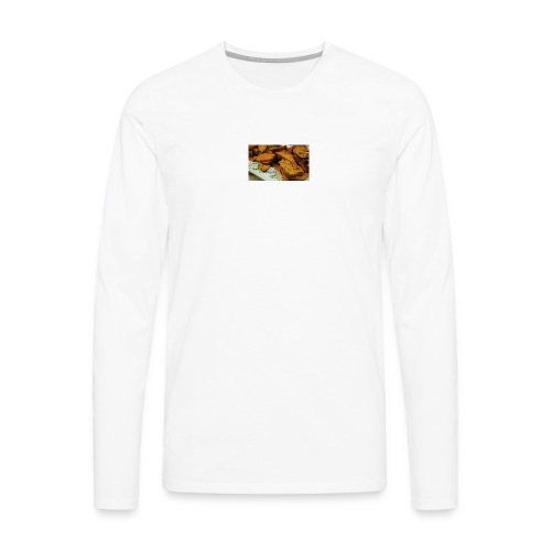 cajun style sweet potatoes top - Men's Premium Long Sleeve T-Shirt