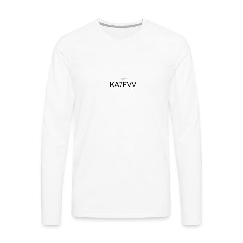 KA7FVV II - Men's Premium Long Sleeve T-Shirt
