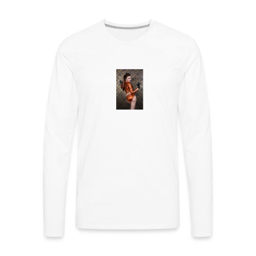 a beauty - Men's Premium Long Sleeve T-Shirt