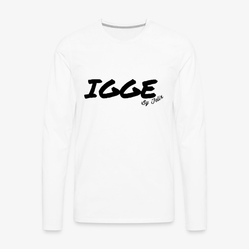 IGGE by Felix - Men's Premium Long Sleeve T-Shirt