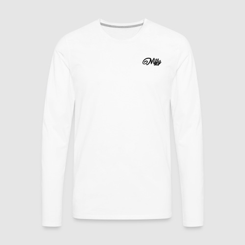 Niffy Aura Merch - Men's Premium Long Sleeve T-Shirt