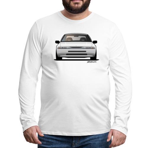subaru_svx_sticker_clear - Men's Premium Long Sleeve T-Shirt
